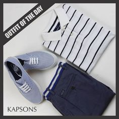Color the world BLUE.... #Blue #OutfitOfTheDay #Vans #IndianTerrain #BlueDress #FashionForMen #Menswear #Kapsons