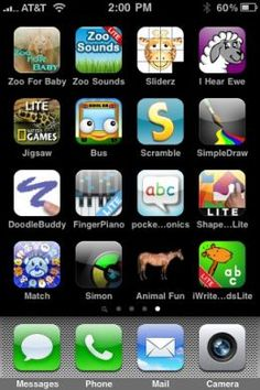 Best, Free and Paid Apps for the iPhone, iTouch, and iPad: Applications for Kids and Toddlers - for the drive to FL?  30 min each day?
