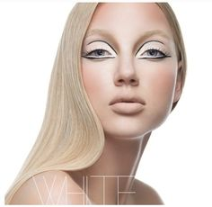 Clean avant-garde makeup