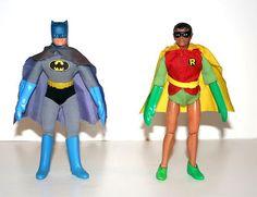 """Vintage Mego Batman Robin 8"""" Action Figures WGSH   eBay"""