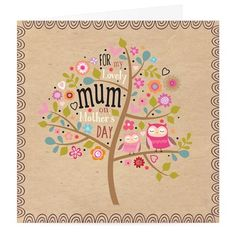 Lovely Mum Mother's Day Card at Whistlefish Galleries - handpicked contemporary & traditional art that is high quality & affordable. Available online & in store