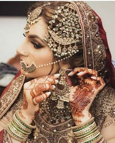 bridal jewelry for the radiant bride Wedding Jewellery Inspiration, Indian Wedding Jewelry, Bridal Jewellery, Indian Jewelry, Silver Jewelry, Western Jewellery, Wedding Inspiration, Nose Jewelry, Bridal Necklace