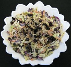 Triple Treat Cabbage Salad