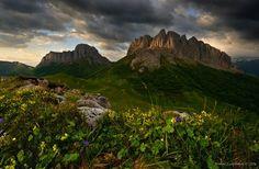 The beauty of the mountainous Adygea, Russia