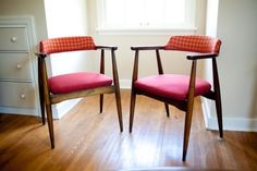 Gorgeous Danish chairs, they know how to make them!