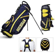 Team Golf University of Michigan Fairway 14-Way Stand Golf Bag