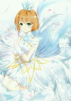 Manga Girl, Anime Manga, Arte Sailor Moon, Cardcaptor Sakura, Card Captor, Clear Card, Magical Girl, Clamp, Drawings