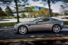 Alfa Romeo 8C grey