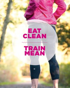 Eat clean train mean