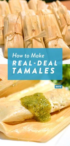 A combo of guajillo, ancho, and arbol chiles gives this red chili sauce its earthy, smoky, and spicy complexity. It's folded into an airy an. Beef Tamales, Chicken Tamales, Chicken Chili, Mexican Tamales Recipe Beef, Beef Empanadas, Pork Recipes, Chicken Recipes, Cooking Recipes, Freezer Recipes