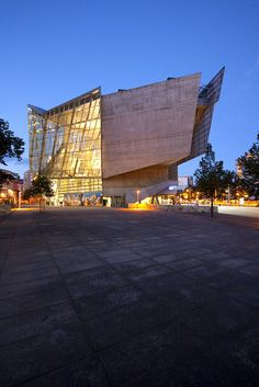 UFA Cinema Center in Dresden by Coop Himmelb(l)au. Image by Wojtek Gurak, via Flickr