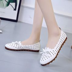 Brand Ksyoocur 2020 New Ladies Flat Shoes Casual Women Shoes Comfortable Round Toe Flat Shoes Spring/summer Women Shoes Spring Shoes, Summer Shoes, Slip, Bow Flats, Pointed Toe Flats, Womens Flats, Comfortable Shoes, Casual Shoes, Fashion Shoes