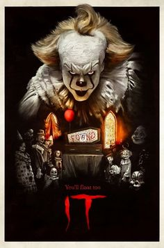 From the acclaimed 2017 horror film IT, drawn from the pages of Stephen King's original novel, NECA and GameStop present the exclusive version of Pennywise in action figure form! Scary Movie Characters, Scary Movie List, Zombie Movies, Scary Movies, Horror Vintage, Retro Horror, Horror Icons, Horror Movie Posters, Horror Movies