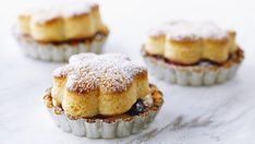 Berry Tarts with Honey Biscuits