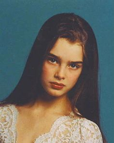Young Brooke Shields in the late 70s and early 80s. Description from pinterest.com. I searched for this on bing.com/images