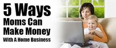 Make Money From Home Moms Home Business Opportunities Earn From Home, Work From Home Jobs, Make Money From Home, Way To Make Money, Home Business Opportunities, Business Ideas, Job Career, Blog Sites, Be Your Own Boss