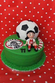Kick the ball!  Cake by dutchcakes