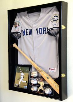 f8bce501d Learn about various options that provide a permanent home for your  autographed jerseys. Shadow Box