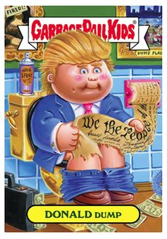 garbage pail kids | Tumblr