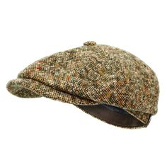 Stetson Hats Stetson Hatteras Donegal Wool Tweed Newsboy Cap 6840601 475