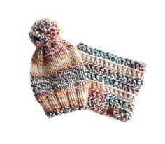 Knit Toque   Classic Cowl Bundle
