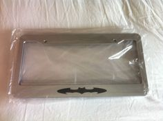 Batman Classic - CHROME Automotive License Plate Frame - Dark Knight QTY 2 Listing in the Other,Exterior,Cars & Trucks Parts & Accessories,Cars & Vehicles Category on eBid United States