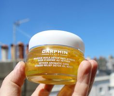 Darphin Vetiver Stress Relief Detox Oil Mask (Review)