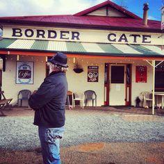 Cat at Border Gate - Mingary SA