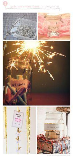 5 Funny Ideas for a New Year Eve Party at home // Wishes Tree and Wishes Jar    5 Divertidas ideas para una Fiesta de Nochevieja en casa // Bote de los Deseos // Árbol de Deseos para 2013