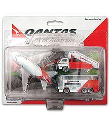Qantas Airport Playset in Plastic Case