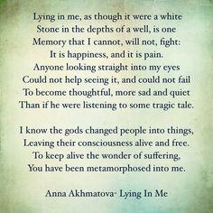Anna Akhmatova Poems