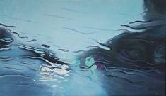 Steen Larsen, Kystvejen, 2018, GALLERI RAMFJORD Museum Exhibition, Art Museum, Nepal Art, Viborg, Kind Of Blue, Landscape Paintings, Oil Paintings, Hyperrealism, Aarhus