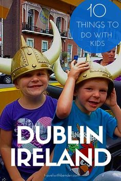 10 Things To Do In Dublin With Kids. Including Dublinia, Natural History Museum, Viking Splash Tour, Fun Galaxy, Dublin Zoo and more. TRAVEL WITH BENDER | Family Travel in Ireland made easy.