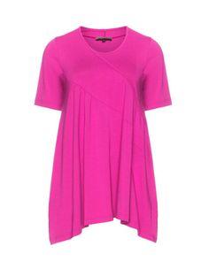 A-Linien-Jerseyshirt  von Exelle. Jetzt entdecken: http://www.navabi.de/shirts-exelle-a-linien-jerseyshirt-pink-19326-9000.html?utm_source=pinterest&utm_medium=social-media&utm_campaign=pin-it