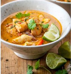 South East Asian Fish Curry