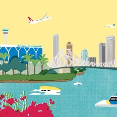 Brisbane Airport approached Winkreative to define and communicate its ambitious plan for growth. We set out its remarkable vision in a 76-page linen-bound book, Going Places: A Blueprint for Brisbane Airport, evolved the corporate identity and introduced the world to 'Blue', the charming kookaburra mascot who will appear across the airport's social media channels.