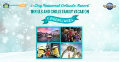 Enter for a chance to win a Universal Orlando Resort™ vacation!