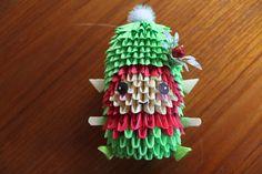 3D Origami Elf