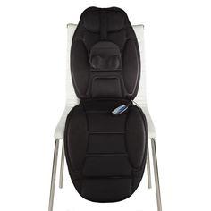 Relaxus Shiatsu Chair Massage Pad with Neck Roller Massage Pads