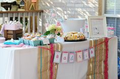 Pretty In Pink 1st Birthday Party