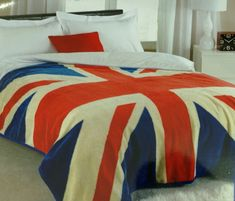 Union Jack bedspread. Yes, I am having a British themed dorm room this year. Complete with Sherlock, Doctor Who, and LOTR.