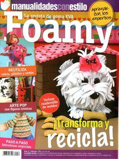 como hacer un perro en foami - Revistas de manualidades Gratis