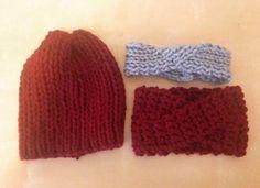Gorro y turbantes de lana