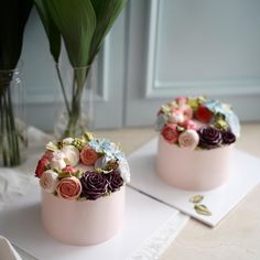 advanced 4th week  #플라워케이크 #플라워케익#koreanflowercake #flowercake #buttercream #韓式唧花 #韓式裱花 #裱花蛋糕 #써드아이엠