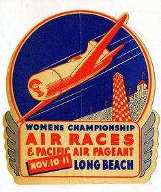 Air Races, Long Beach - Topping