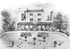Brockley Hall was occupied from about 1845 by the Noakes family. They owned a brewery in Bermondsey, but also farmed at Brockley. The house was demolished in 1931 and Brockley Hall Road, Bearsted Rise, Horsmonden Road and Sevenoaks Road were built over the grounds and fields. East London, Old Pictures, Brewery, Ideal Home, Fields, Building, Places, House, Ideal House