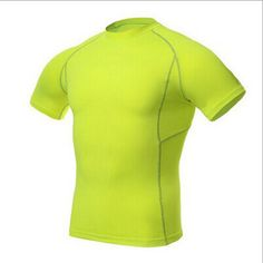 34a45454a2e9 Mens Tops Compression Shirt Base Layer Short Sleeve T-Shirts   Price   9.20