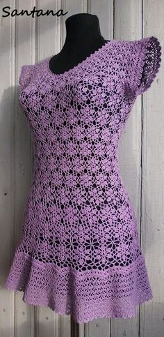 Fabulous Crochet a Little Black Crochet Dress Ideas. Georgeous Crochet a Little Black Crochet Dress Ideas. Black Crochet Dress, Crochet Skirts, Crochet Blouse, Crochet Clothes, Crochet Lace, Knit Dress, Easy Crochet, Clothing Patterns, Dress Patterns