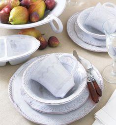 Bellezza White Dinner Plate