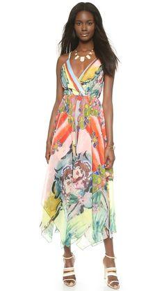 alice + olivia Orly Hankerchief Dress